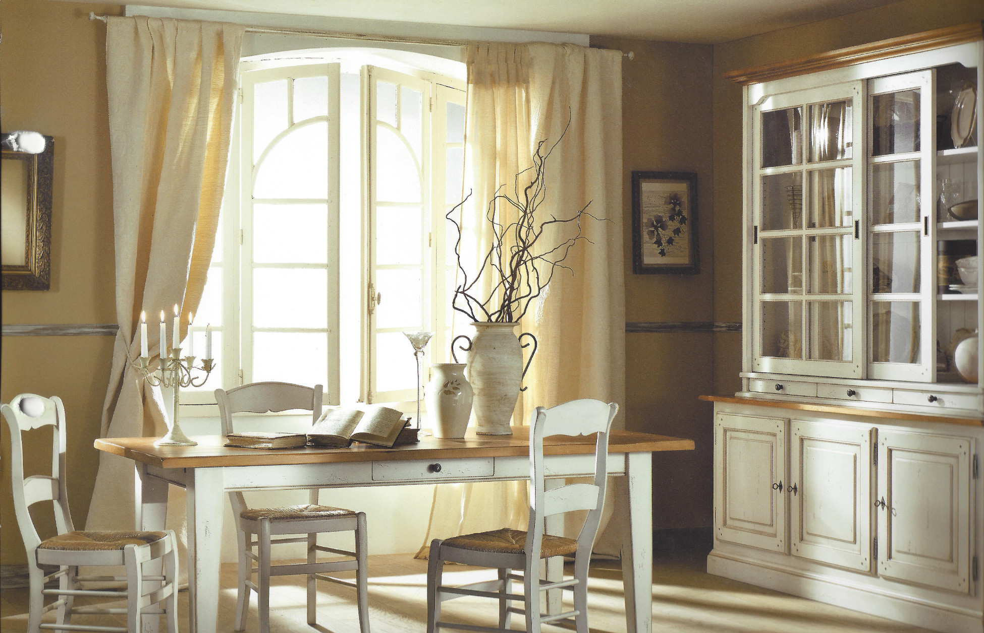 salle a manger provencale homeezy. Black Bedroom Furniture Sets. Home Design Ideas